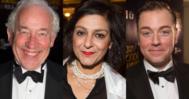 Simon Callow CBE, Meera Syal and Rufus Hound