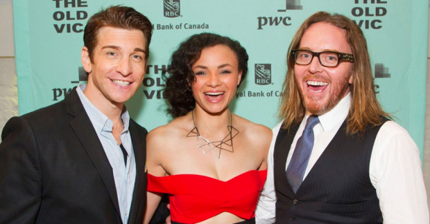 Andy Karl, Carlyss Peer and Tim Minchin