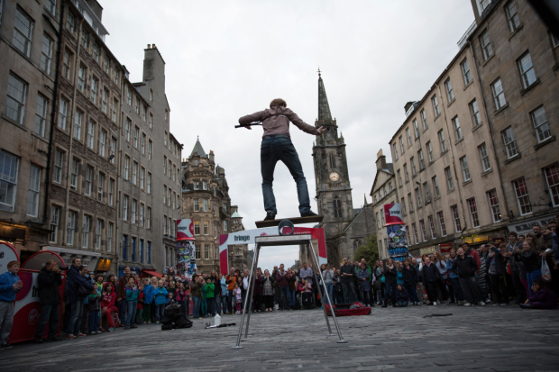 The madness of the Edinburgh Festival