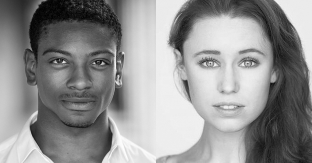 Dex Lee and Jessica Paul will play Danny and Sandy in Grease