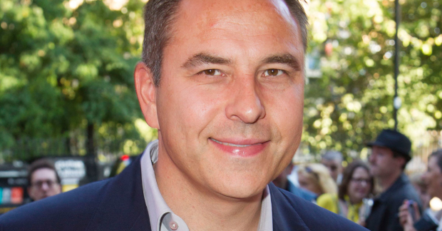 The writer and comedian David Walliams