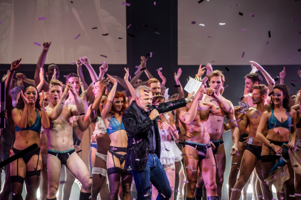 Graham Norton and the cast of West End Bares
