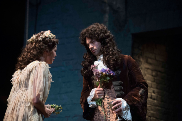 Ophelia Lovibond and Dominic Cooper in The Libertine