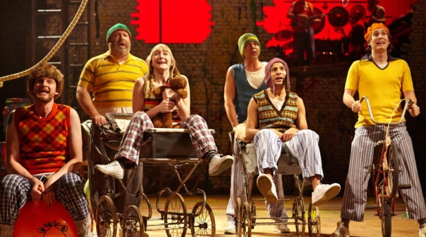 The original cast of Peter Pan at Bristol Old Vic