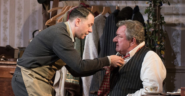 Reece Shearsmith and Ken Stott in The Dresser