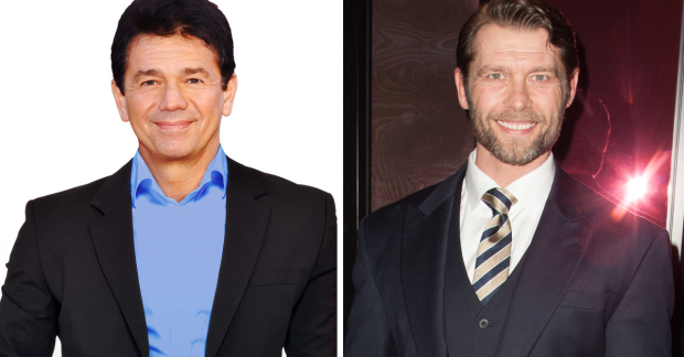 Adrian Zmed and John Partridge