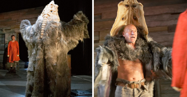 Patrick Stewart in The Tempest