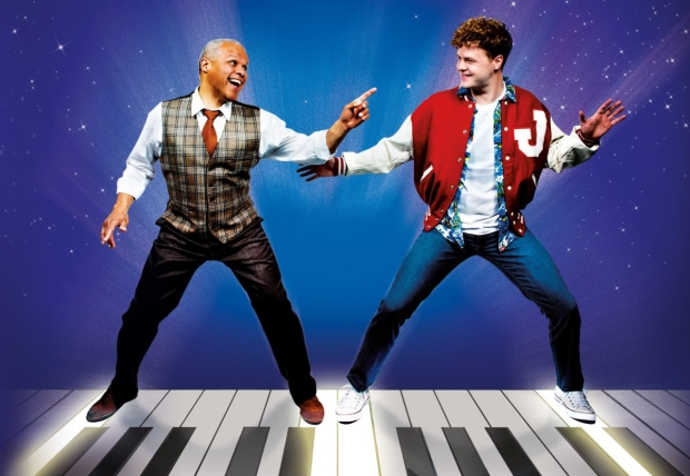 Gary Wilmot and Jay McGuiness