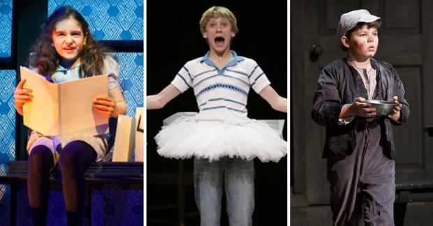 Matilda, Billy Elliot and Oliver!