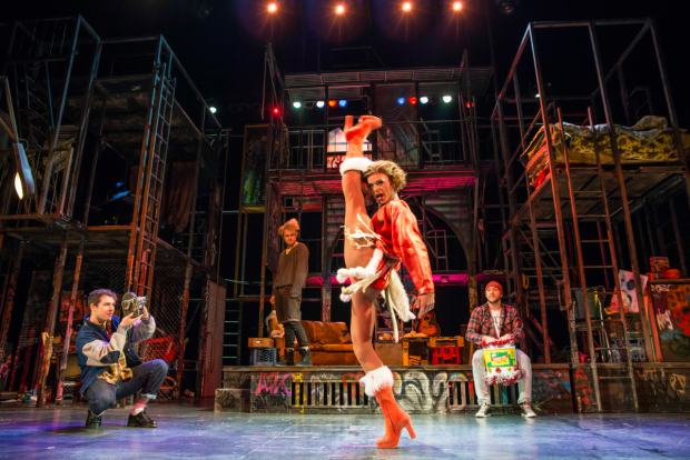 Layton Williams as Angel  in the UK tour of Rent