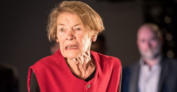 Glenda Jackson as King Lear at the Old Vic