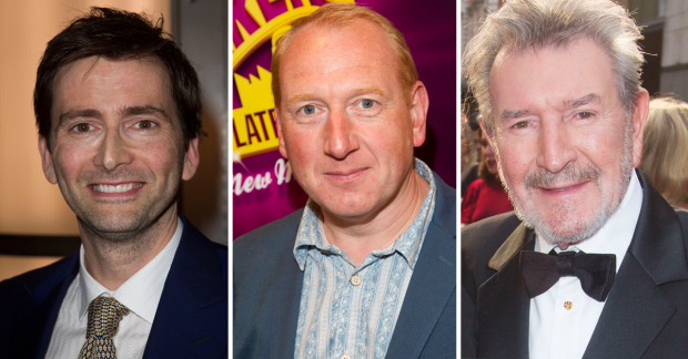 David Tennant, Adrian Scarborough and Gawn Grainger