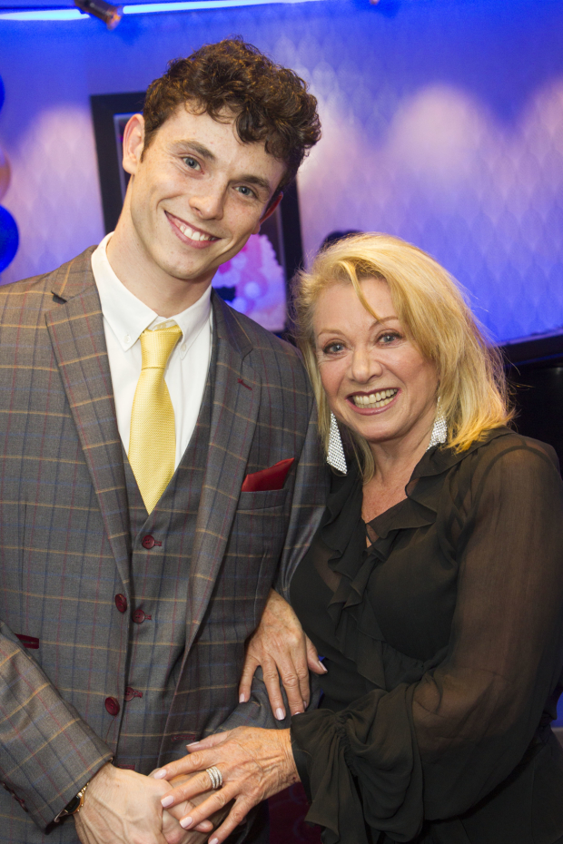 London Charlie Stemp (Arthur Kipps) and Elaine Paige