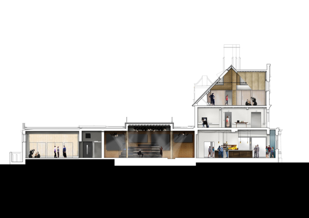 The plans for the Bush Theatre