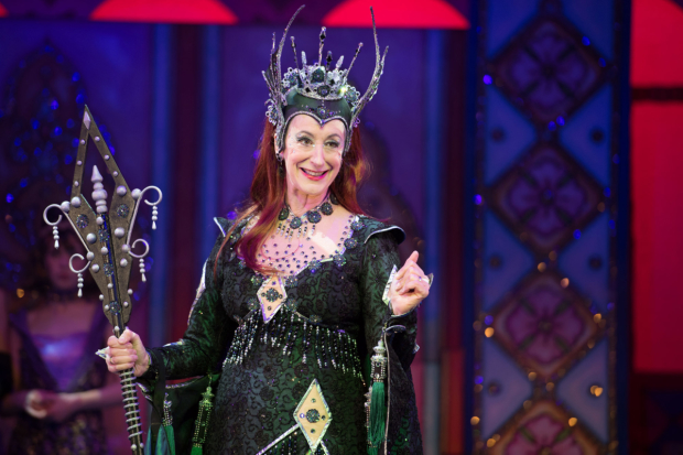Maureen Lipman as the Wicked Fairy in Sleeping Beauty