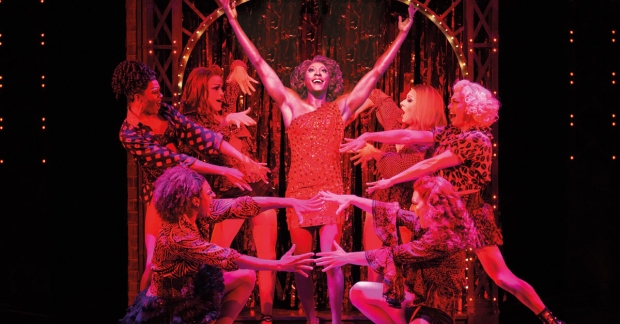 Matt Henry and the cast of Kinky Boots