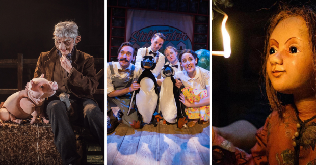Babe the Sheep-pig, Mr Popper's Penguins, and The Little Matchgirl all run this Christmas