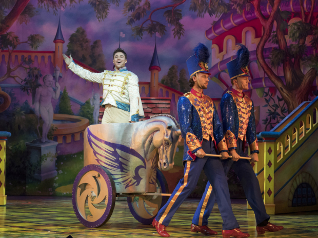Duncan James (Prince Charming) in Snow White and the Seven Dwarfs