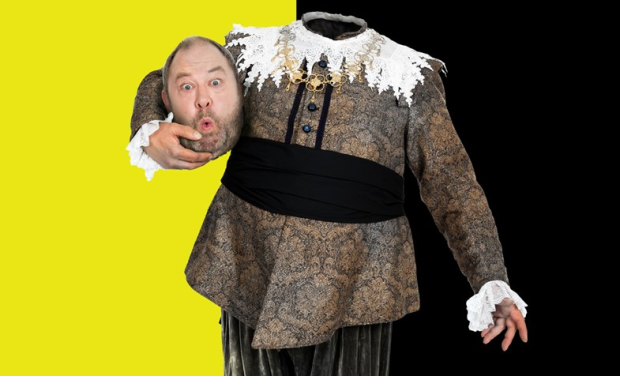 Mark Addy as Sir John Hotham in Richard Bean's The Hypocrite