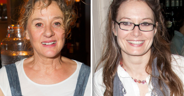 Niamh Cusack and Catherine McCormack