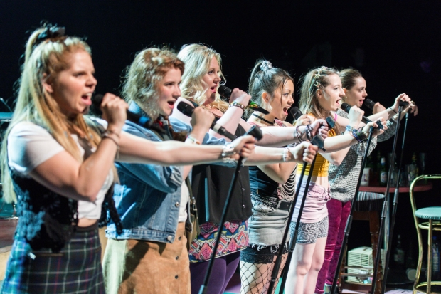 The original cast of Our Ladies of Perpetual Succour