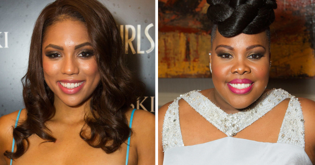Liisi LaFontaine and Amber Riley