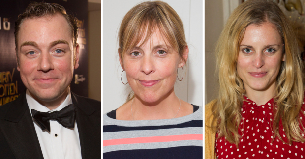 Rufus Hound, Mel Giedroyc and Denise Gough