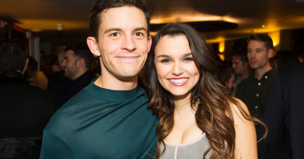 Jonathan Bailey and Samantha Barks