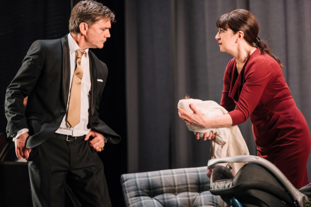 John Michie and Maureen Beattie in The Winter's Tale