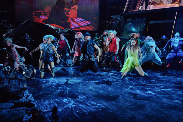The cast of Bat Out Of Hell