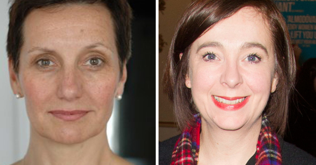 Suzie de Rohan Willner and Vicky Featherstone