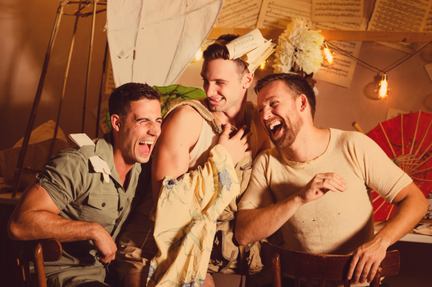 Sasha Regan's all-male production of The Mikado