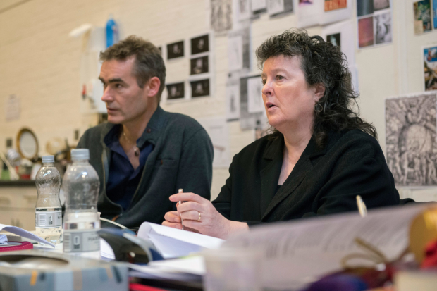 Rufus Norris and Carol Ann Duffy