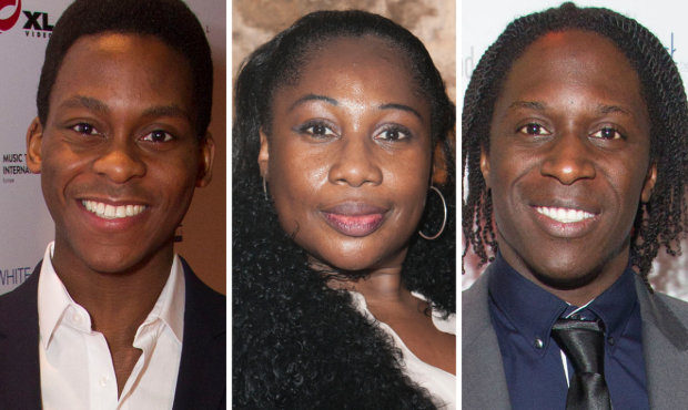 Tyrone Huntley, Wendy Mae Brown and Hugh Maynard