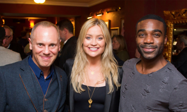 Robert Rinder, Laura Whitmore and Ore Oduba
