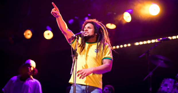 Mitchell Brunings as Bob Marley in One Love: The Bob Marley Musical