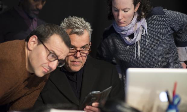 Clint Dyer, Max Casella and Danny Huston