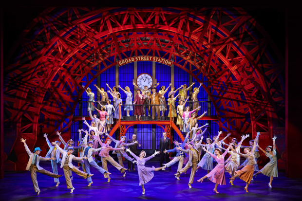 Clare Halse and company of 42nd Street