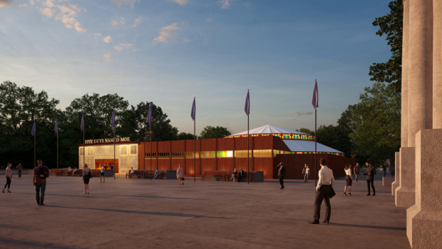 An artist's impression of the new Marble Arch Theatre