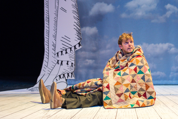 Christian Roe as Rabbit in The Velveteen Rabbit in 2015