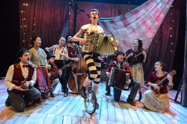 Bart Soroczynski and cast of La Strada