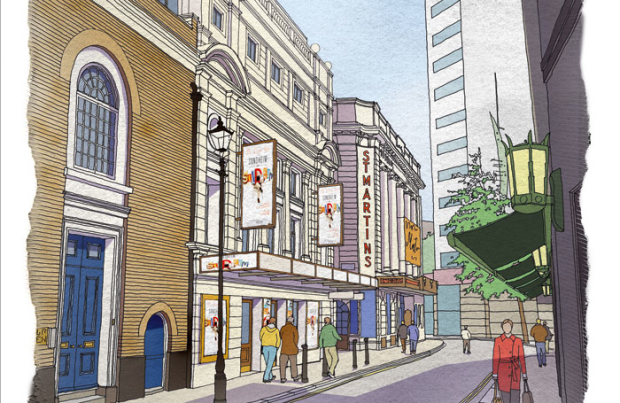 Proposed plans for the new Sondheim Theatre