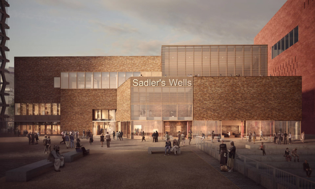 Computer generated image of the new Sadler's Wells venue