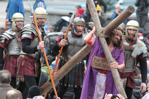 The Passion Play in London  in 2013