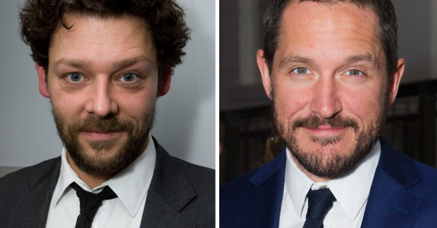 Richard Coyle and Bertie Carvel