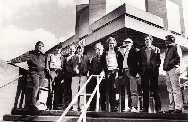Peter Wood, Bill Bryden, Peter Hall, Michael Bogdanov, Peter Gill, Ian McKellen, Edward Petherbridge, David Hare, Richard Eyre
