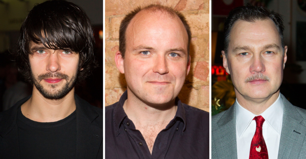 Ben Whishaw, Rory Kinnear and David Morrissey