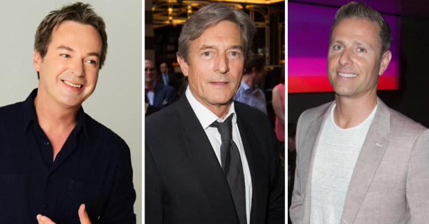 Julian Clary, Nigel Havers and Paul Zerdin