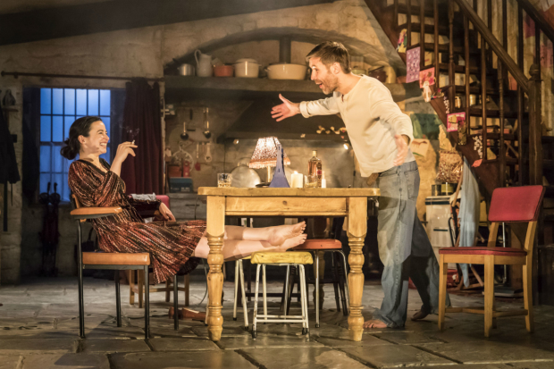 Laura Donnelly (Caitlin Carney) and Paddy Considine (Quinn Carney) in The Ferryman