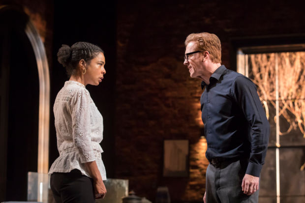 Sophie Okonedo and Damian Lewis in The Goat, or Who is Sylvia